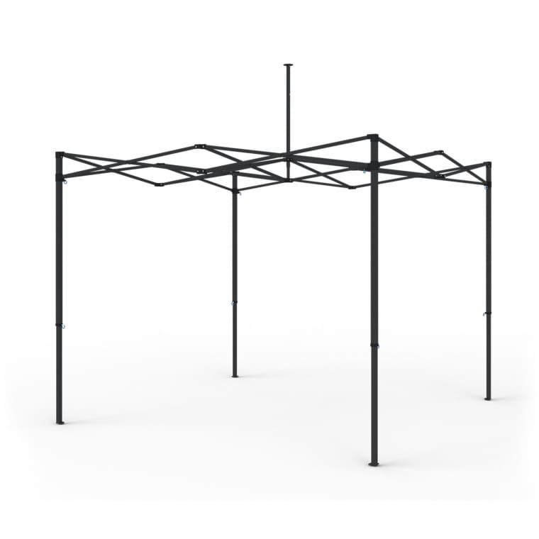 paramondo Gestell für Faltpavillon Premium Plus | 3 x 3 m, 40 mm Stahlrahmen