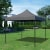 PARAMONDO Faltpavillon Premium Plus | 3 x 3 m, grau