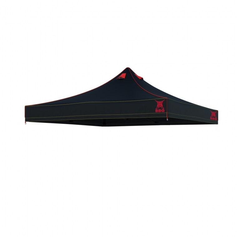 paramondo Grillpavillon- / Grillzelt-Dach für Faltpavillon PRO 30 / PRO 40 / Premium Plus   3 x 3 m
