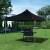 paramondo Grillpavillon / Grillzelt PRO 40 | 3 x 3 m, schwarz