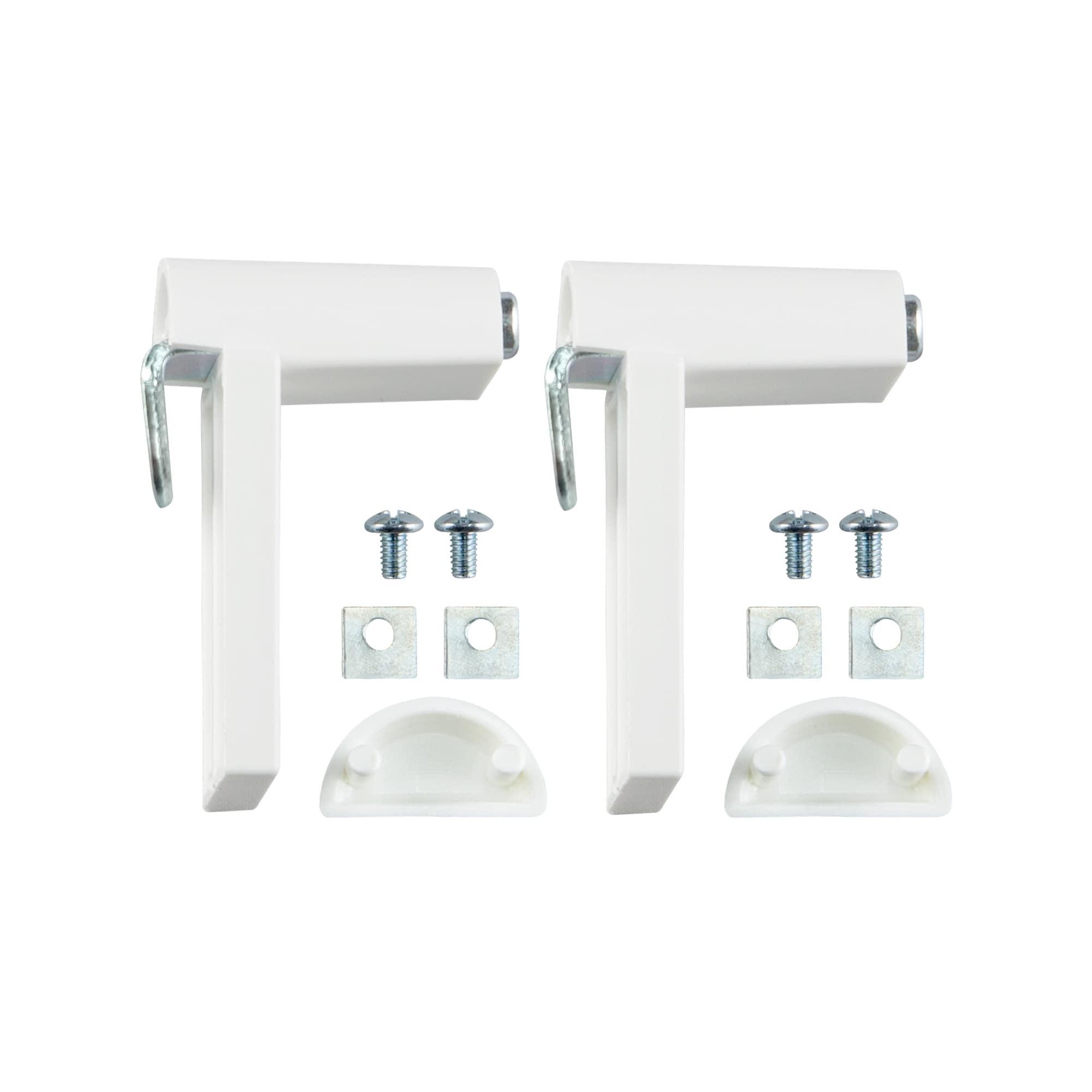 klemmfix rollo halterung universalklemmhalter 2er set. Black Bedroom Furniture Sets. Home Design Ideas