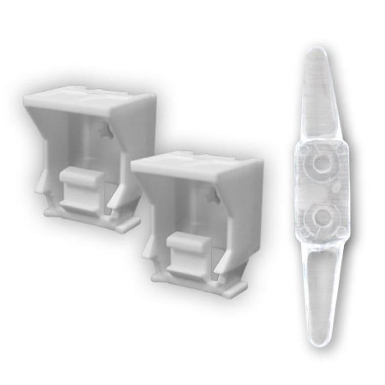 victoria m raffrollo ersatzteil set 2 halter inkl kindersicherung. Black Bedroom Furniture Sets. Home Design Ideas