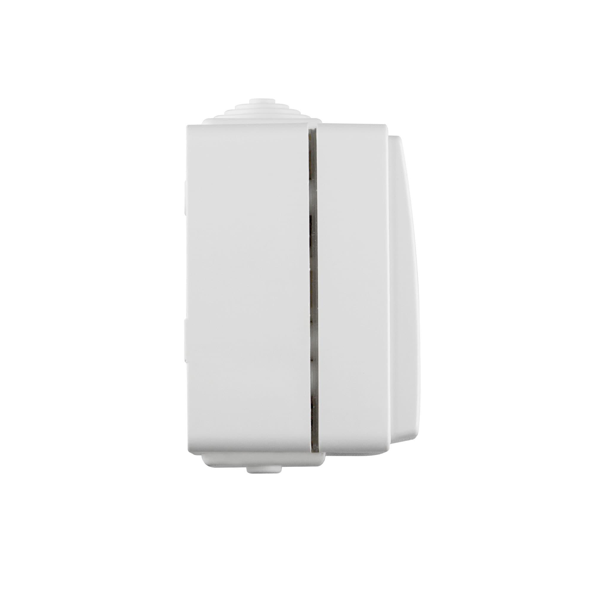 JAROLIFT Rollladen-Wipp-Schalter Rollo-Taster Tast-Schalter Jalousie-Schalter