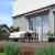 JAROLIFT Gelenkarmmarkise Basic 300 x 250cm, Stoff orange/schwarz Multistreifen #17