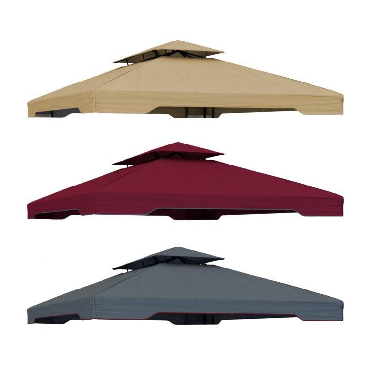 paramondo Ersatzdach für Deluxe Gartenpavillon (Typ nach Wahl)