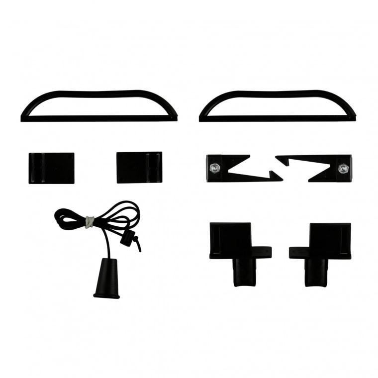 JAROLIFT Ersatzteil-Set für Insektenschutzrollos (Typ nach Wahl)