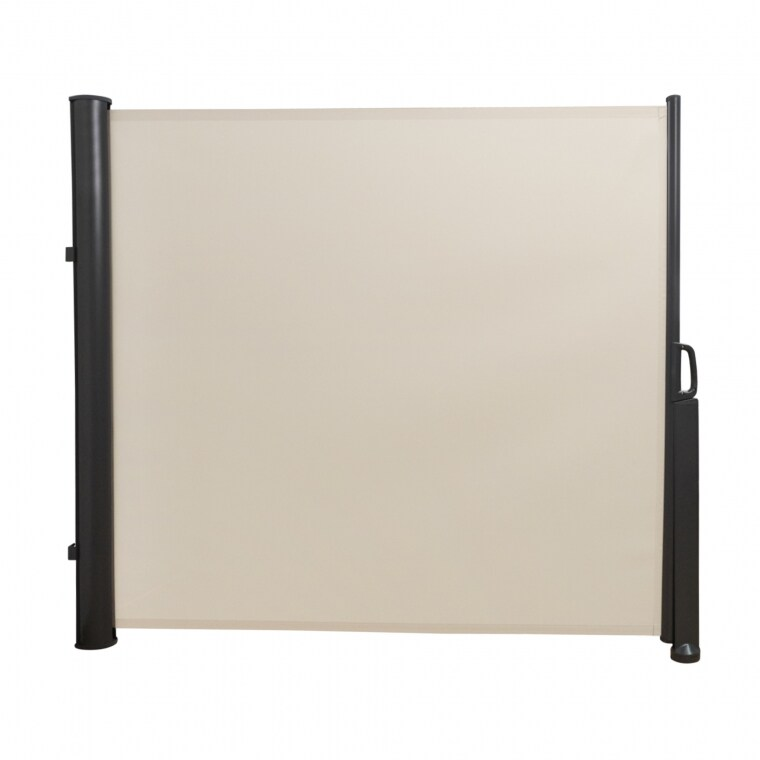 paramondo Seitenzugmarkise | 1,6 x 3 m, anthrazit/beige