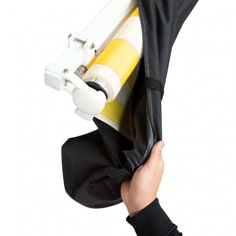 paramondo Markisenschutzhülle | für Markisen mit 250 cm Breite, schwarz