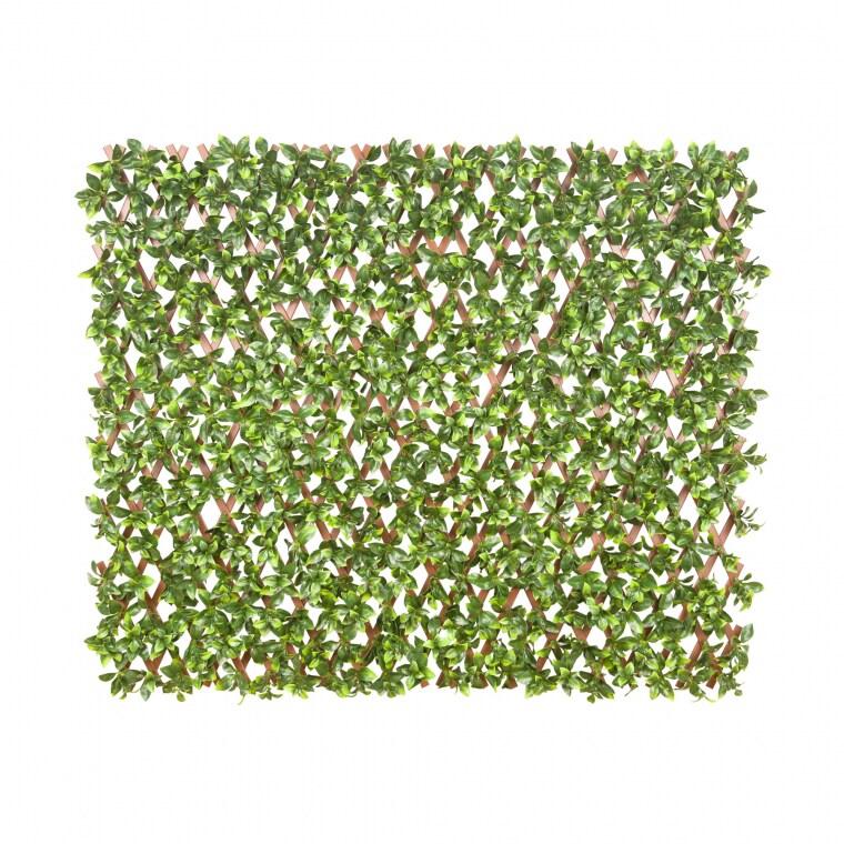 JAROLIFT Künstliche Pflanzenwand | Gardenienblätter, 200 x 100 cm