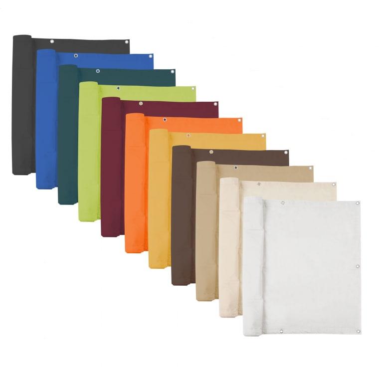 JAROLIFT Balkonbespannungen Basic - Sichtschutz - wasserabweisend / Polyester