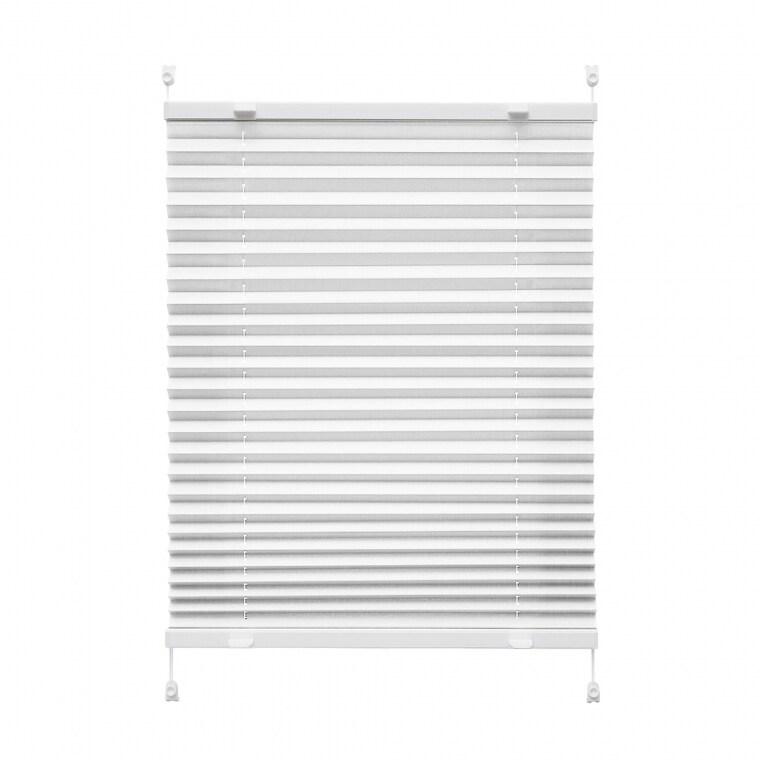 VICTORIA M Praktica Plissee   Polyester, 60 x 120 cm, weiß