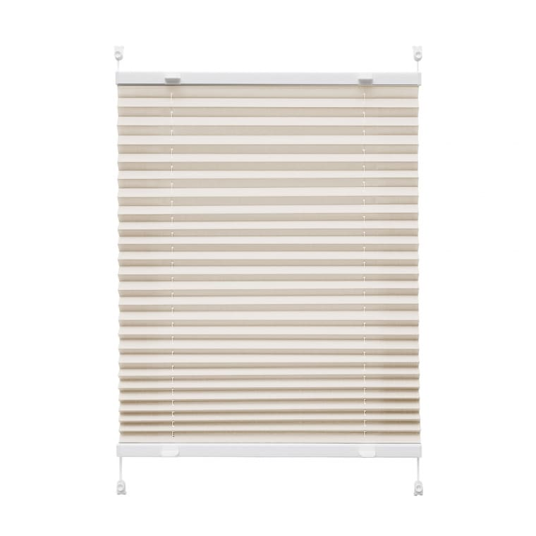 VICTORIA M Praktica Plissee | Polyester, 60 x 120 cm, beige