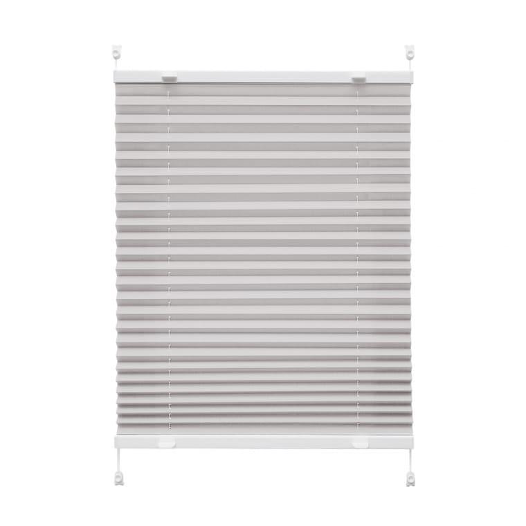 VICTORIA M Praktica Plissee | Polyester, 60 x 120 cm, grau