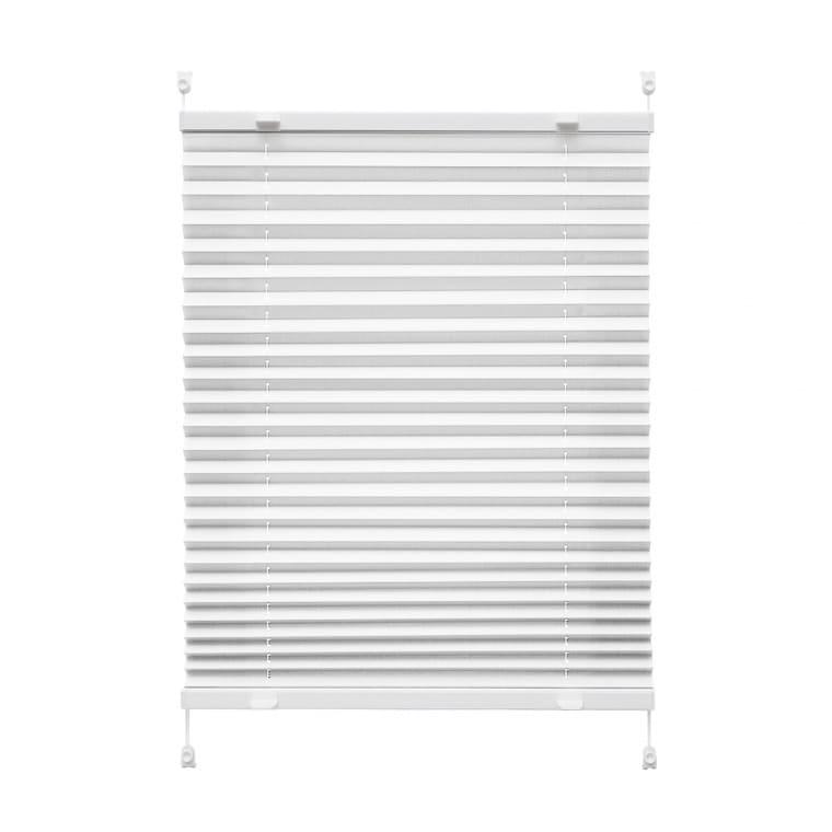 VICTORIA M Praktica Plissee   Polyester, 95 x 150 cm, weiß