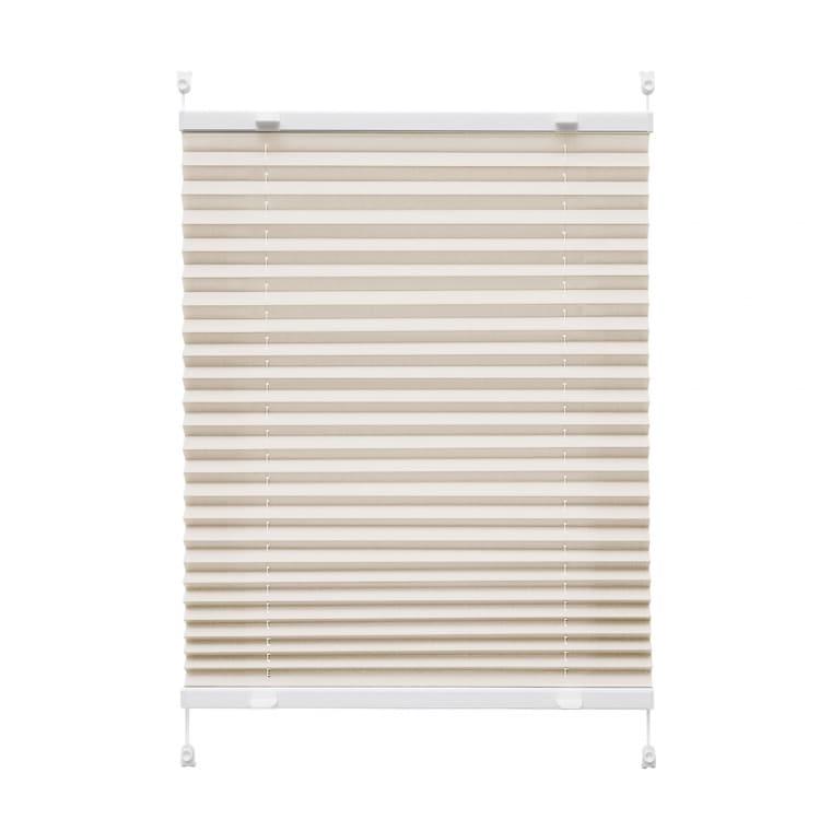 VICTORIA M Praktica Plissee   Polyester, 95 x 150 cm, beige
