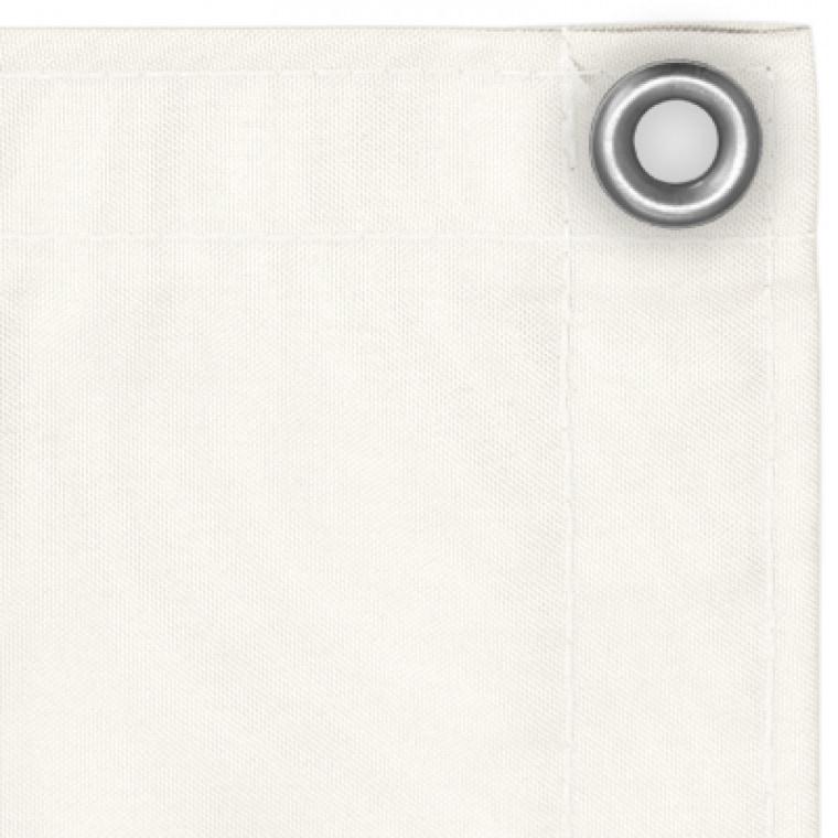 balkonbespannung sichtschutz 300 x 90 cm wasserabweisend weiss. Black Bedroom Furniture Sets. Home Design Ideas