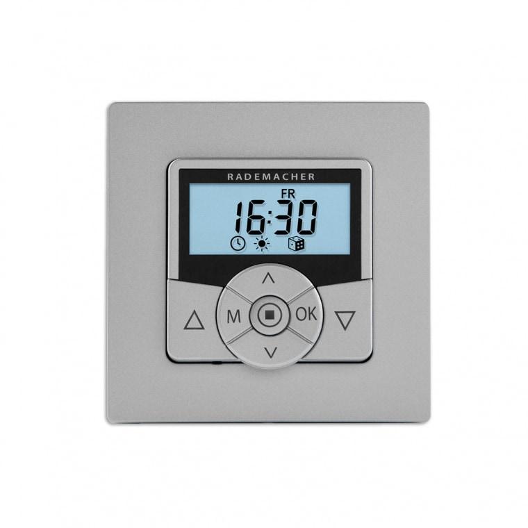 RADEMACHER Troll Comfort Rollladen-Zeitschaltuhr 5625-AL (36500522), aluminium