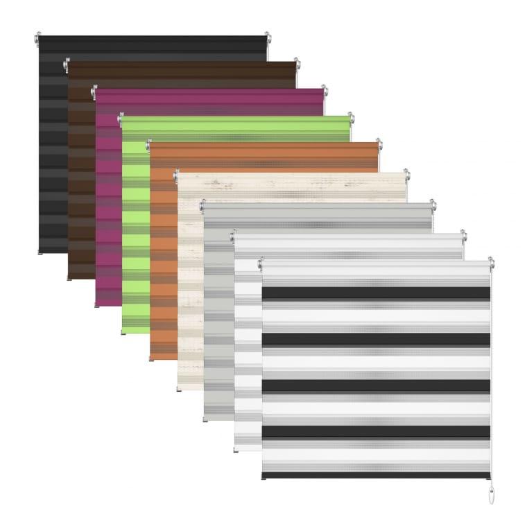Weg sparen Großhandelsverkauf geschickte Herstellung VICTORIA M Klemmfix Doppelrollo für Fenster / Duo Rollo (Typ nach Wahl)