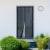 JAROLIFT Easy Fliegengitter-Magnetvorhang für Türen | 100 x 240 cm, schwarz