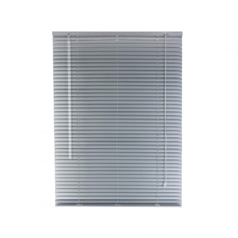VICTORIA M Aluminium Jalousie 110 x 130cm, silber