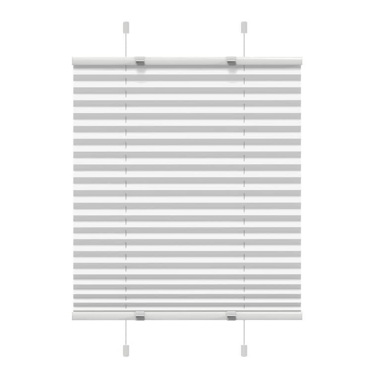 VICTORIA M EasyFix Plissee 85 x 100cm, weiss