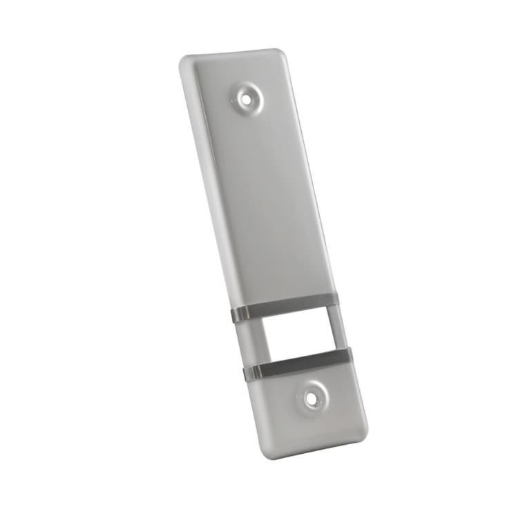 JAROLIFT Design Aluminium-Abdeckplatte für Gurtwickler / LA: 135mm / grau