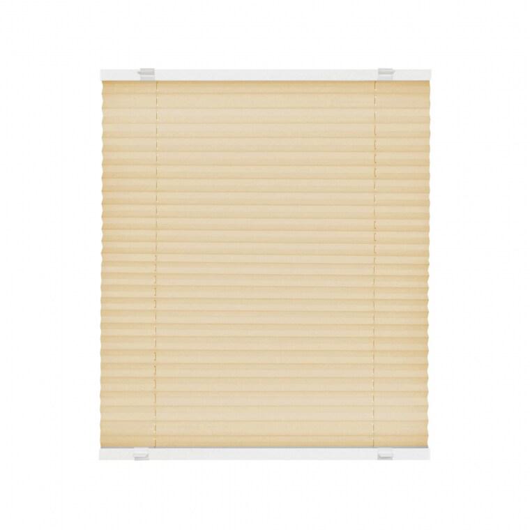 VICTORIA M EasyFix Plissee 95 x 120cm, beige