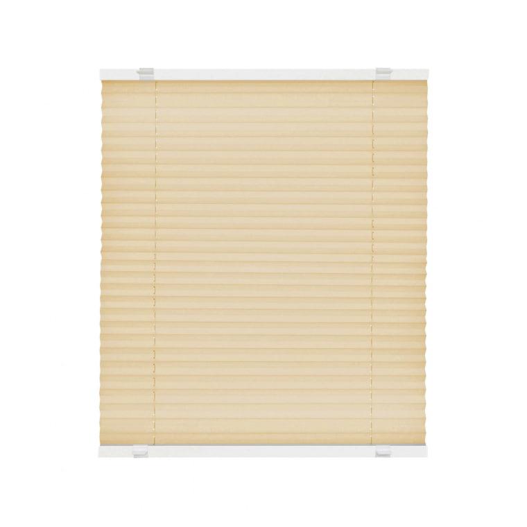 VICTORIA M EasyFix Plissee 75 x 150cm, beige