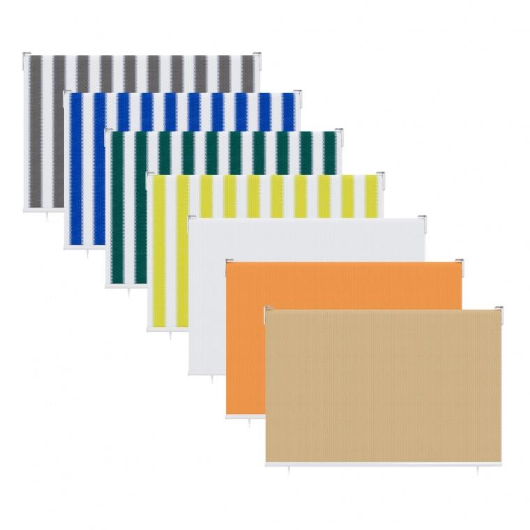 JAROLIFT Außenrollo - Senkrechtmarkise | freihängend (Typ nach Wahl)