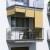 JAROLIFT Außenrollo - Senkrechtmarkise | freihängend, 140 x 140cm, sand