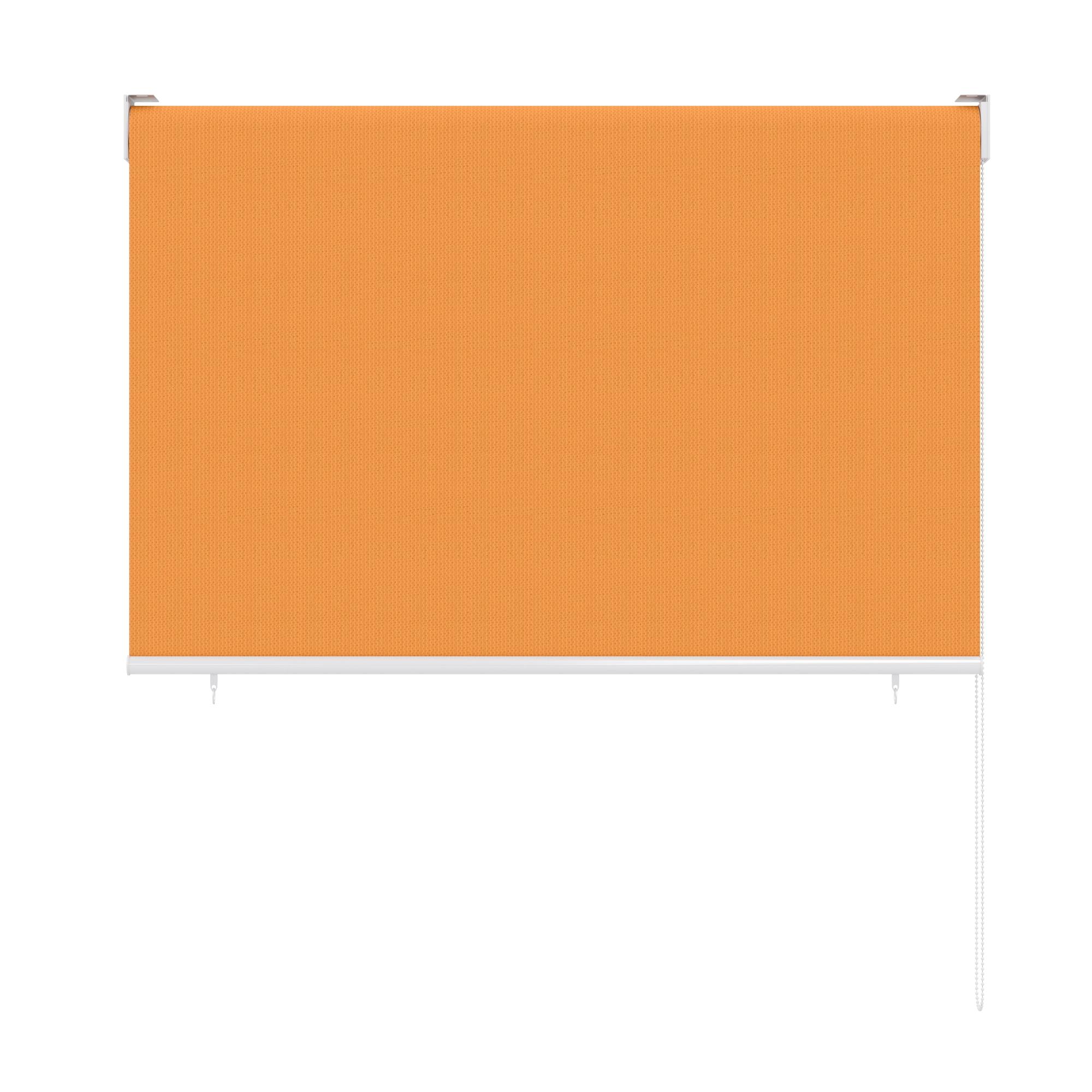 au enrollo balkon senkrechtmarkise 100 x 240cm orange. Black Bedroom Furniture Sets. Home Design Ideas