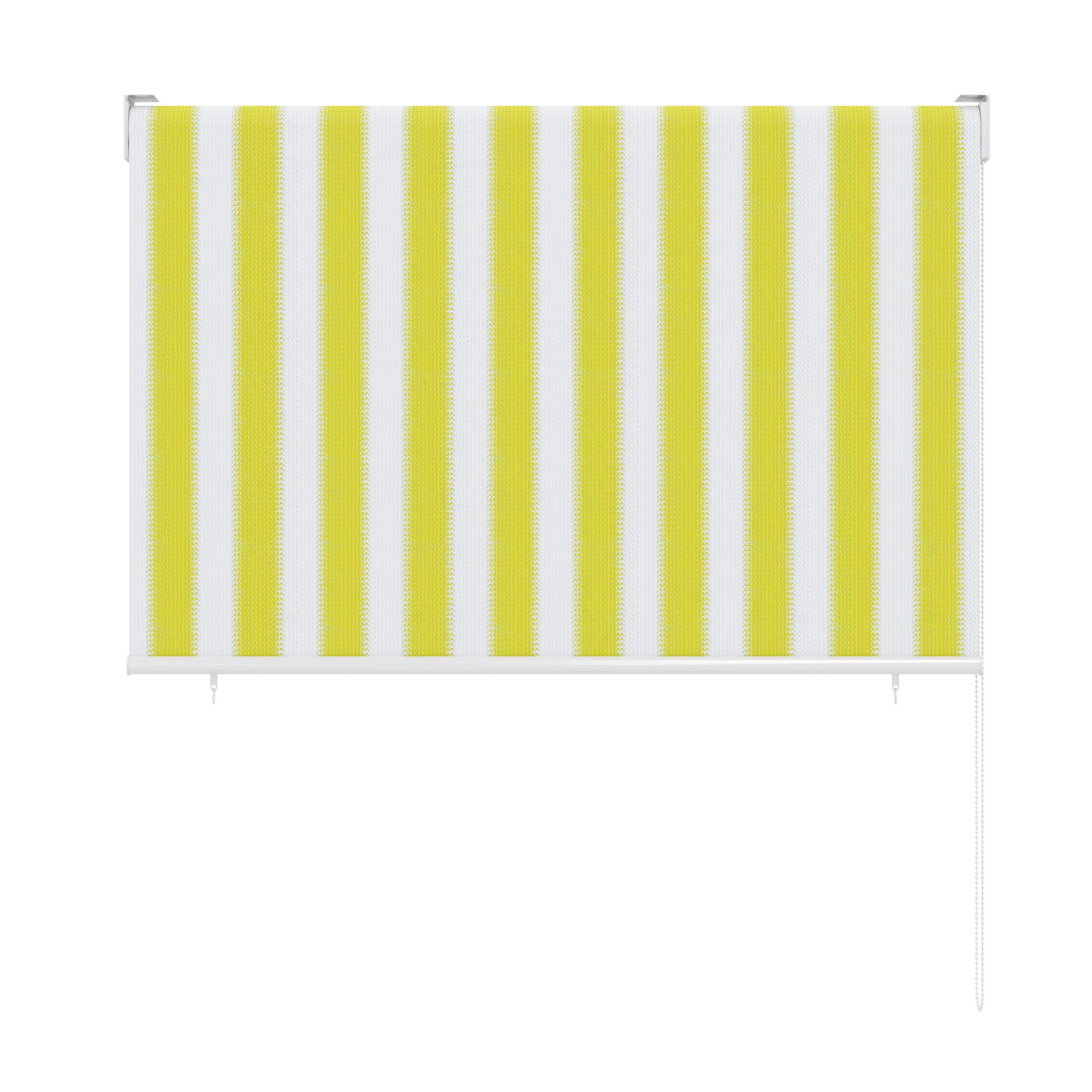 au enrollo balkon senkrechtmarkise 180 x 240cm gelb. Black Bedroom Furniture Sets. Home Design Ideas