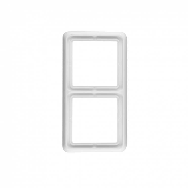 JUNG CD 500 2-Fach Rahmen (CD 582 WW)
