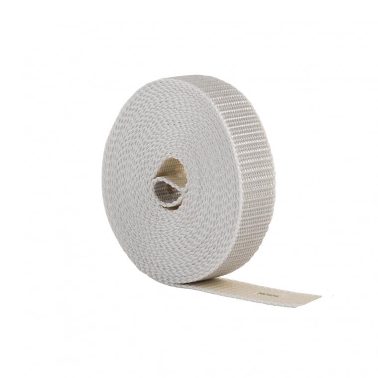 JAROLIFT 6,0m Rollladenwendegurt / Gurtbreite: 23mm / Farbe: beige-grau