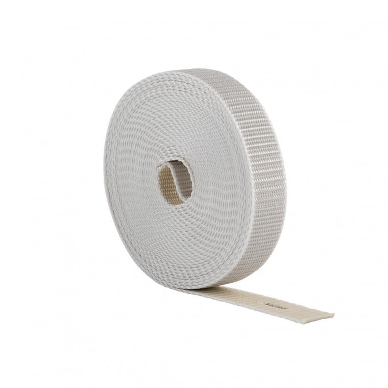 JAROLIFT 4,5m Rollladenwendegurt / Gurtbreite: 23mm / Farbe: beige-grau