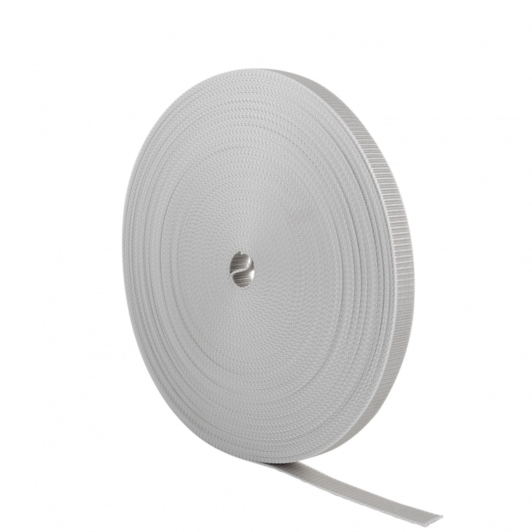 JAROLIFT 50,0m Rollladengurt / Gurtbreite: 23mm / Farbe: grau