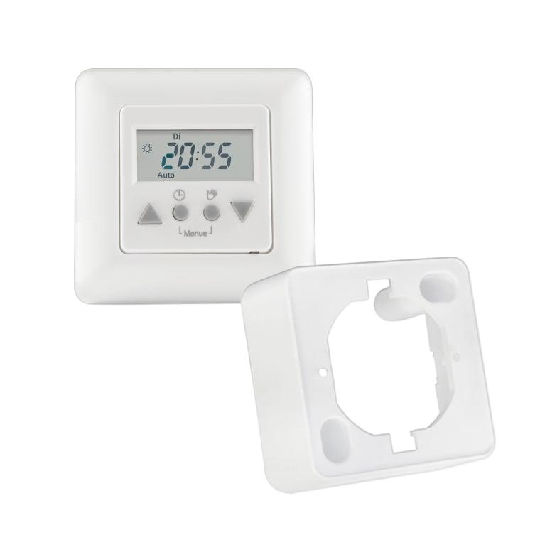 JAROLIFT / Vestamatic Multi Time Control Zeitschaltuhr inkl. Aufputzrahmen (weiss)