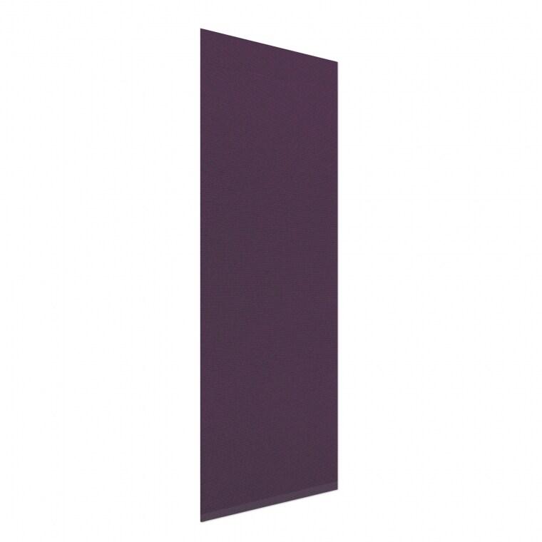 VICTORIA M Flächenvorhang leicht lichtdurchlässig 60 x 250cm, lila