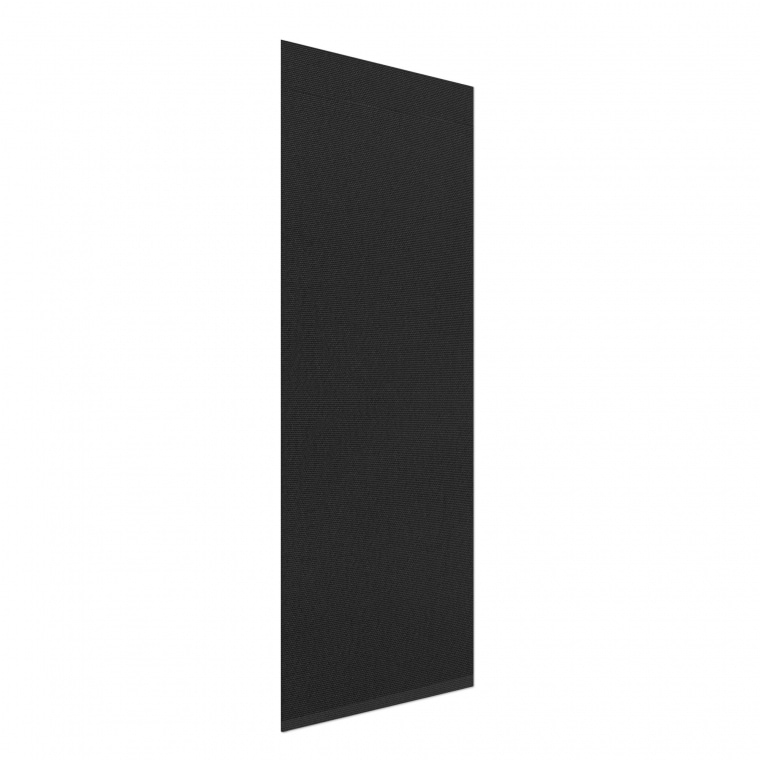 VICTORIA M Flächenvorhang verdunkelnd 60 x 250cm, schwarz