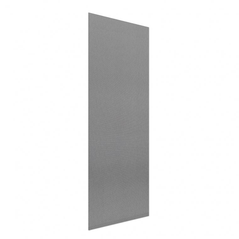 VICTORIA M Flächenvorhang transparent 60 x 250cm, grau