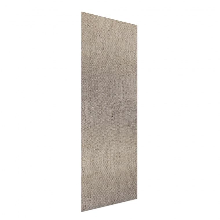 VICTORIA M Flächenvorhang strukturiert 60 x 250cm, beige leinen textur