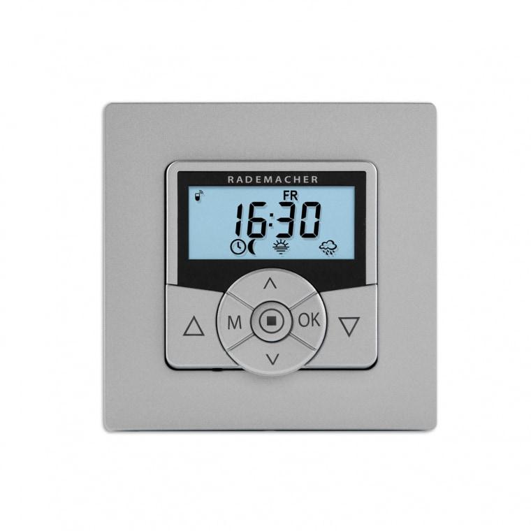 RADEMACHER DuoFern HomeTimer Zeitschaltuhr aluminium 9498-AL (32501381)
