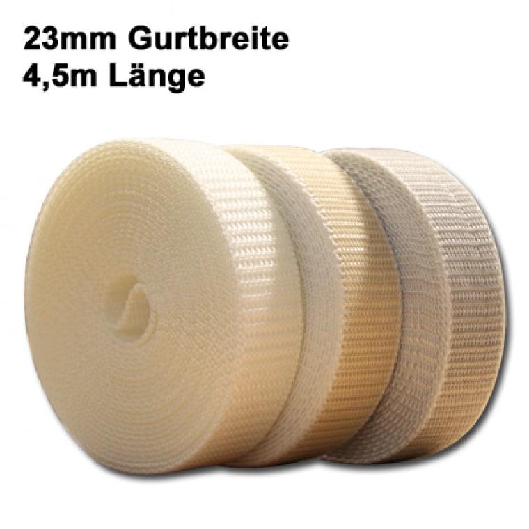 JAROLIFT 23mm Rolladengurte 4,5m (Typ nach Wahl)
