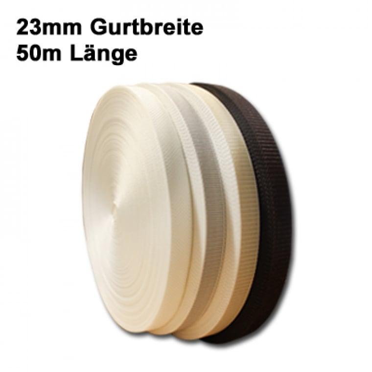 JAROLIFT 23mm Rolladengurte 50m (Typ nach Wahl)