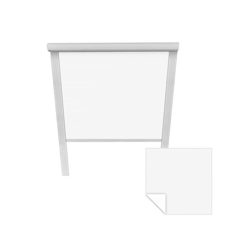 VICTORIA M Verdunkelungsrollo passend für Velux-Dachfenster   M06 306   weiß