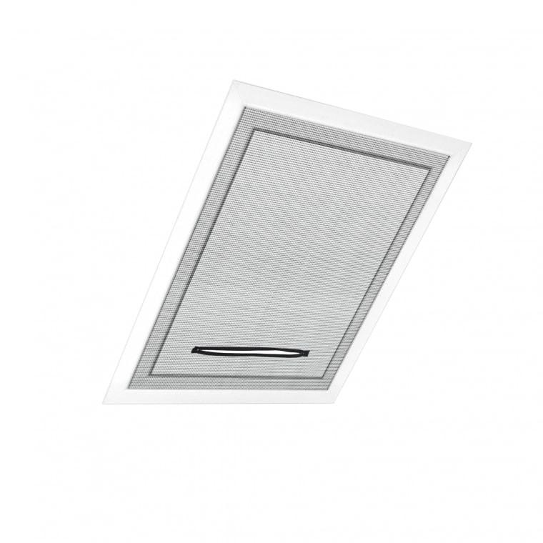JAROLIFT Fliegengitter für Dachfenster 130 x 150cm, schwarz - 4er Pack