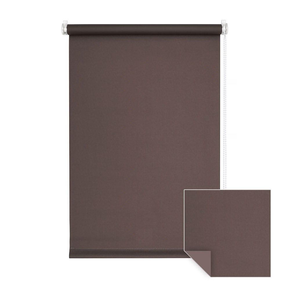 klemmfix verdunkelungsrollo rollo 90 x 150cm braun. Black Bedroom Furniture Sets. Home Design Ideas