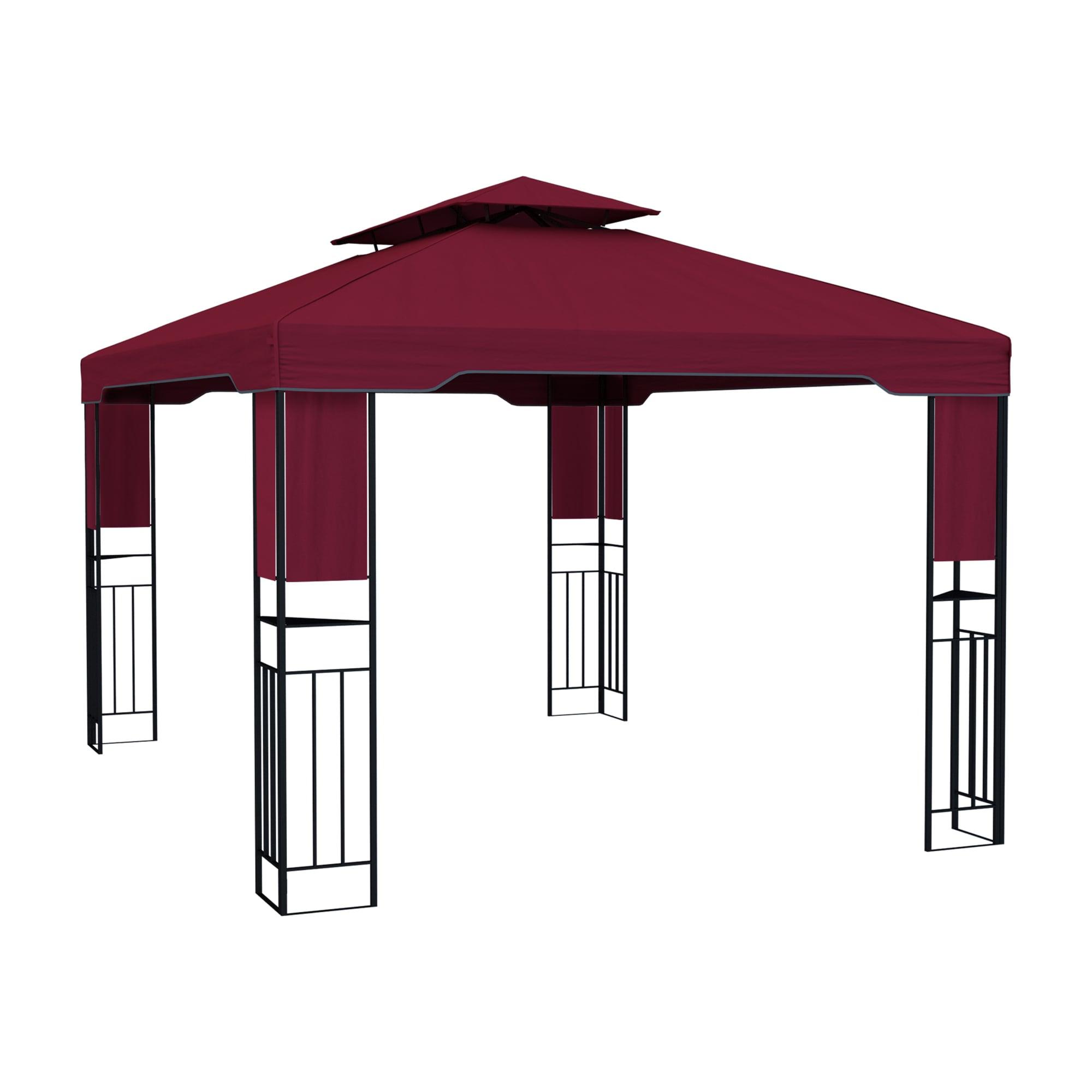 pavillon aus metall aufbau ohne werkzeug wasserdicht. Black Bedroom Furniture Sets. Home Design Ideas