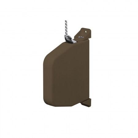 jarolift mini schnurwickler aufputz schwenkbar braun inkl 5m schnur 084343. Black Bedroom Furniture Sets. Home Design Ideas