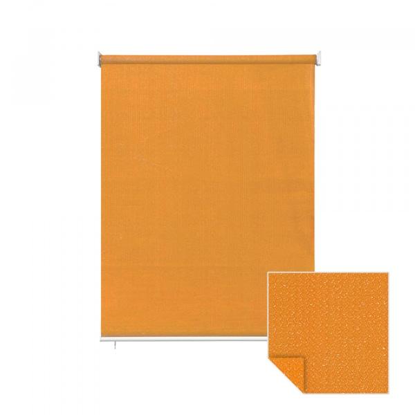 au enrollo balkon senkrechtmarkise 100 x 240cm orange jarolift. Black Bedroom Furniture Sets. Home Design Ideas